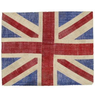Union Jack Patchwork Rug - 8' X 10'