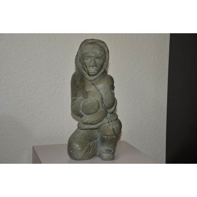 Image of Inuit Stone Sculpture