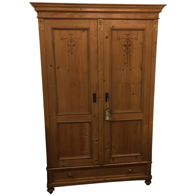 Cedar Lined Armoire - Image 1 of 10