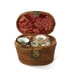 Image of 1870s Rose Medallion High Tea Set