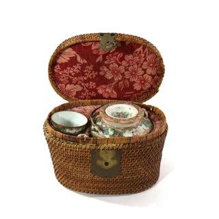 1870s Rose Medallion High Tea Set