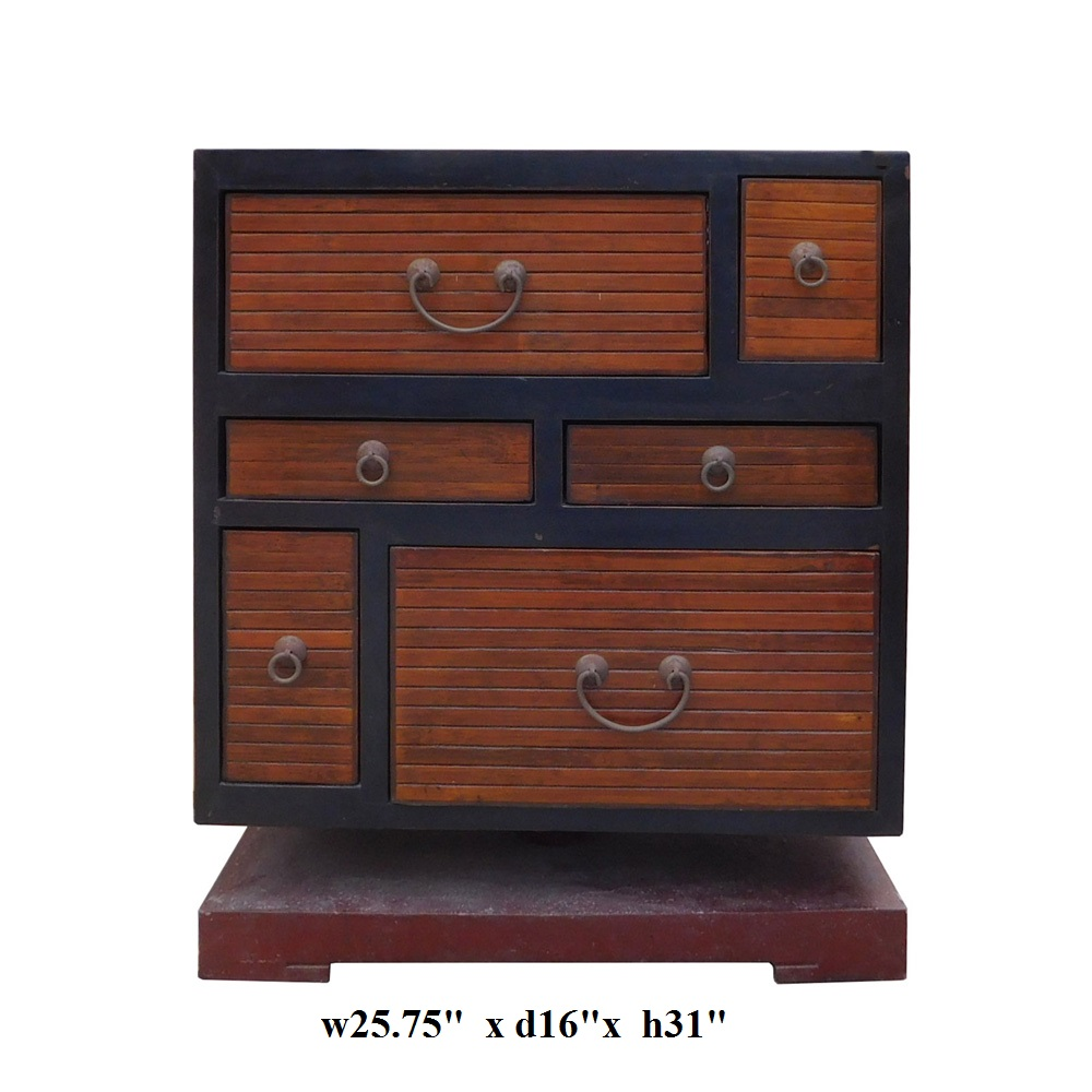 what is a cabinet black brown turning base side table cabinet chairish 28272
