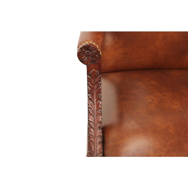 Image of Samuel Leather Library Arm Chair