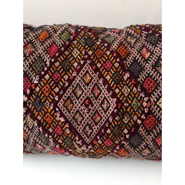 Dhurrie Lumbar Pillow - Image 4 of 8