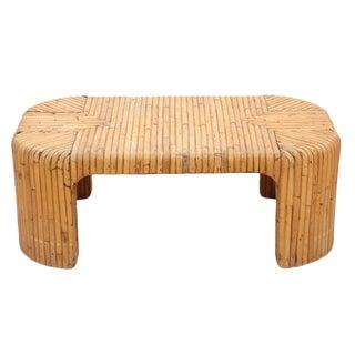 Bamboo Coffee Table