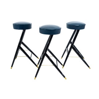 Italian Set Of Three Bar Stools