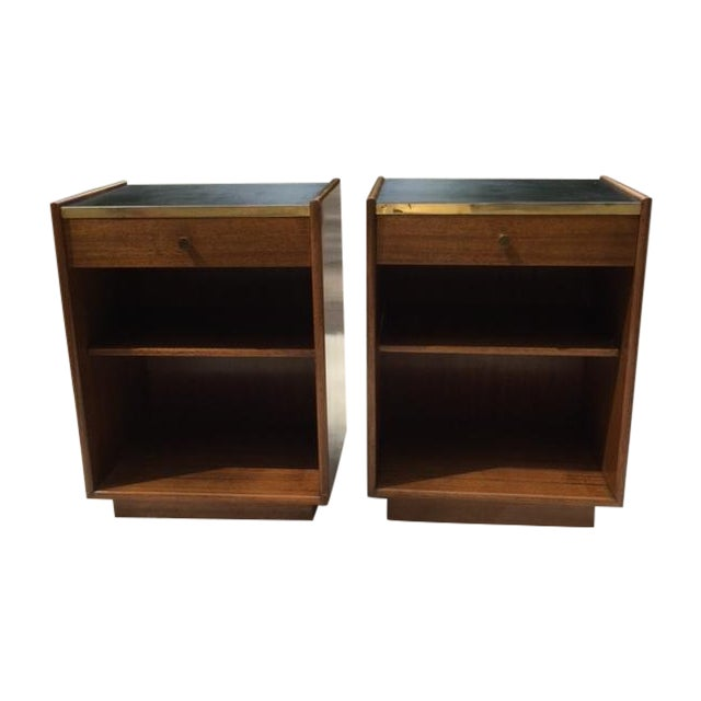 Harvey Prober Bedside Tables - Pair - Image 1 of 11