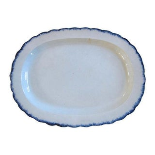 1820's Creamware Staffordshire Platter