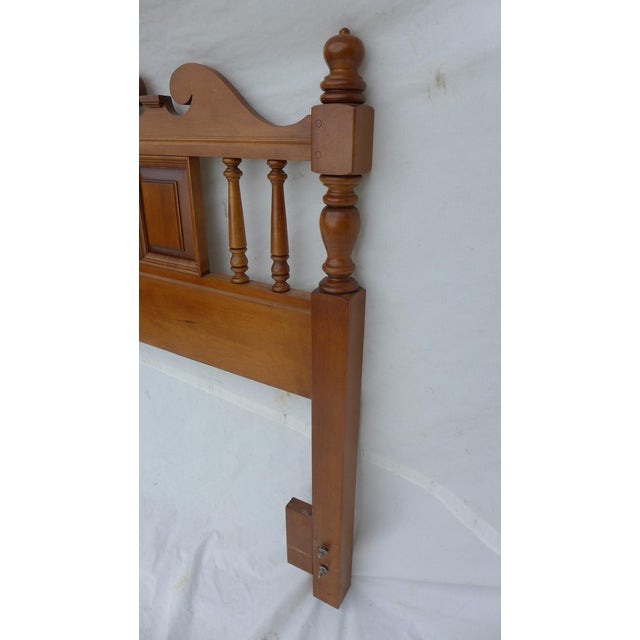 Cottage Style Drexel Haritage Queen Size Headboard - Image 6 of 7