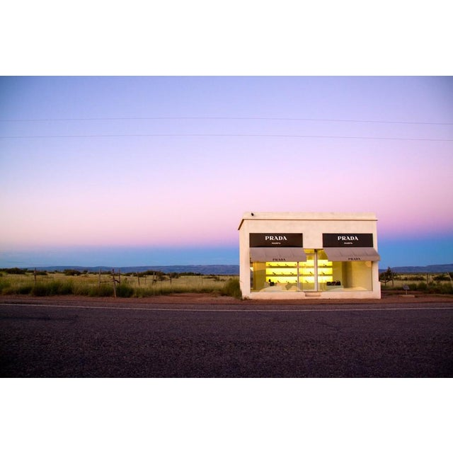 "Image of Gray Malin Prada Marfa ""Dawn"" Photograph"
