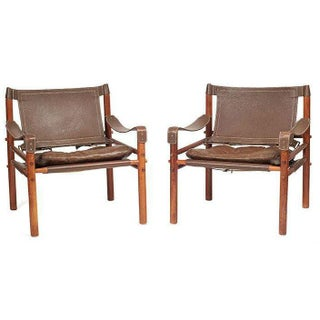Arne Norell Safari Chairs - A Pair
