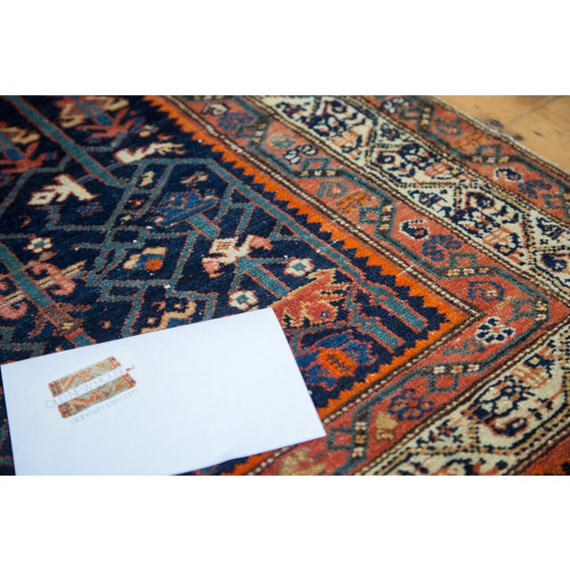 """Colorful Antique Malayer Rug - 4'2"""" X 6'6"""" - Image 9 of 10"""