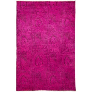 """Vibrance Hand Knotted Area Rug - 6'1"""" X 9'3"""""""