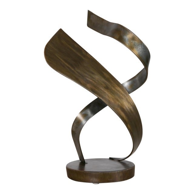 """Attraction"" Steel Sculpture by Joe Sorge - Image 1 of 8"
