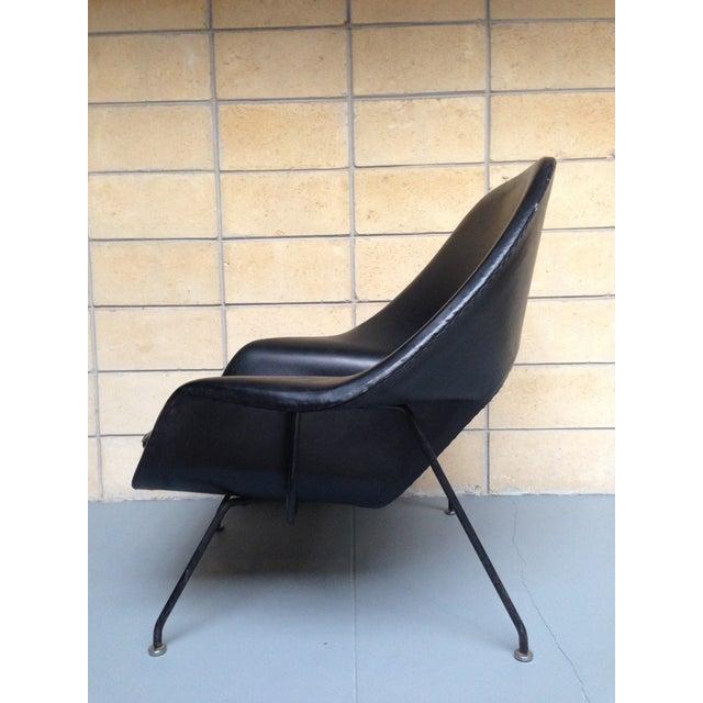 Eero Saarinen for Knoll Vintage Black Womb Chair - Image 9 of 11