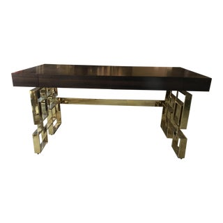 Veneered Caracole Gridlock Desk
