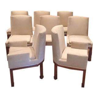 Vladimir Kagan Dining Chairs - Set of 8