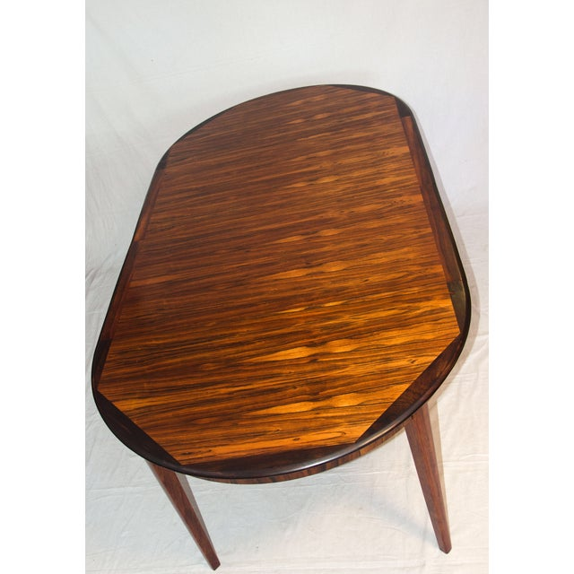 Danish Round Rosewood Dining Table by Moller - Image 6 of 7