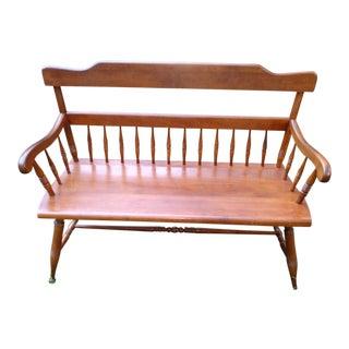 Ethan Allen Deacon's Bench