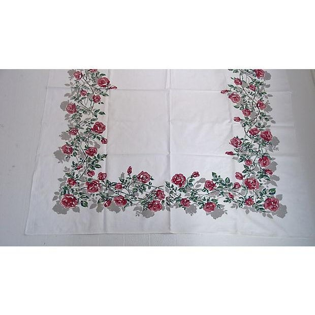 Image of Vintage 1950s Tablecloth