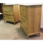 Image of Heywood Wakefield Mid Century Tall Chests - Pair