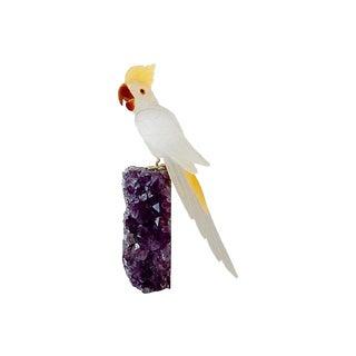 LG Quartz Amethyst Bird