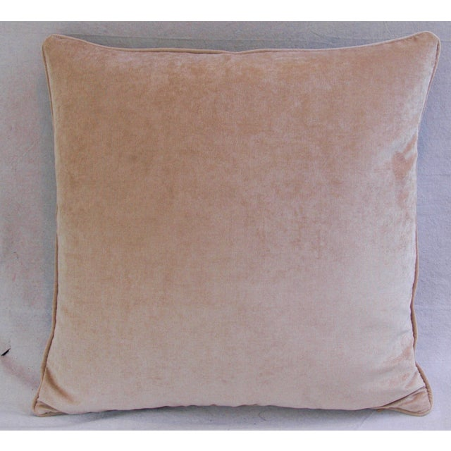 Custom Tropical Palm & Orchid Pillows - A Pair - Image 10 of 11