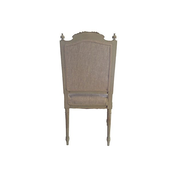 Petite French Side Chair - Image 4 of 7