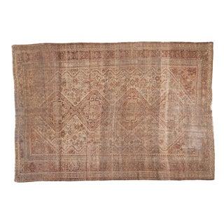 "Vintage Distressed Shiraz Carpet - 6'9"" X 9'7"""