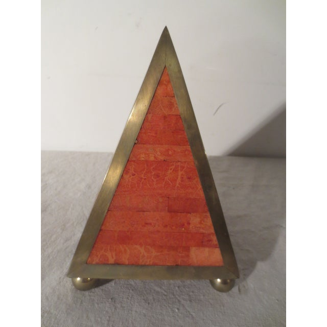 Image of Brass And Glass Maitland Smith Obelisk