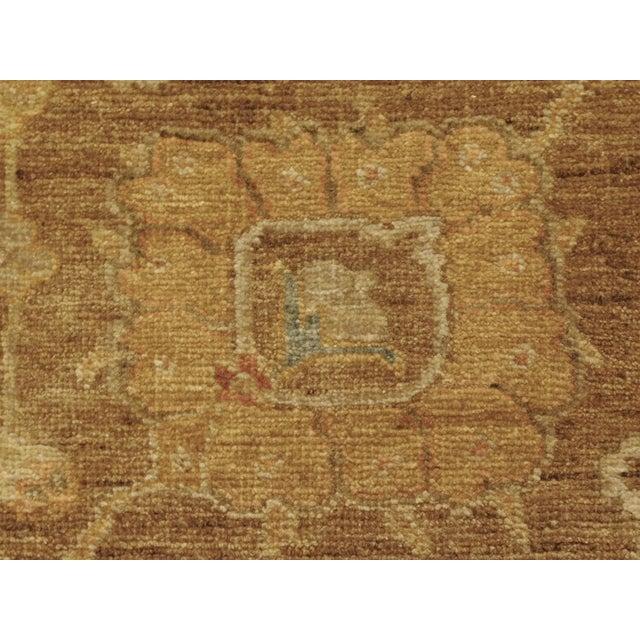 """Hand Knotted Indo-Ushak Floral Design Rug - 8'x 9'8"""" - Image 8 of 10"""