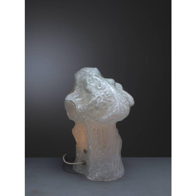 Carlo Nason Sculptural Murano Glass Table Lamp by Mazzega, Italy, 1960s - Image 5 of 9