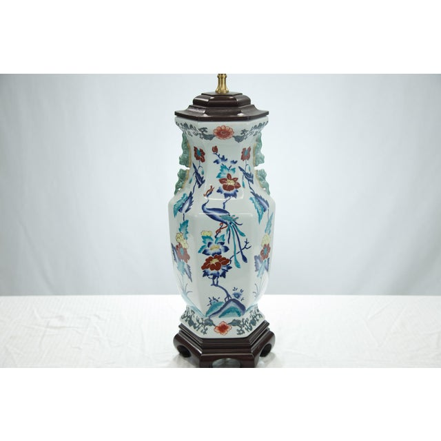 Chinese Porcelain Lamp - Image 2 of 4