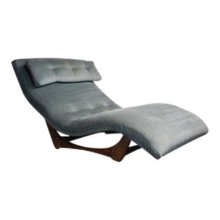 Wave Chaise Lounge Chair Designed by Adrian Pearsall