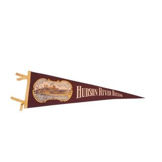 Hudson River Dayline Felt Flag