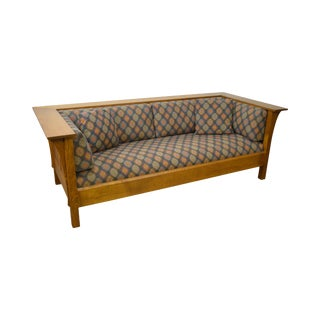 Stickley Mission Collection Oak Prairie Sofa