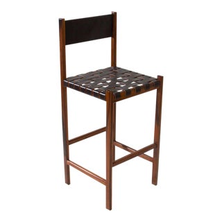 The Leather Strap Stool