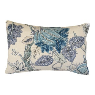 "Cowtan & Tout Bagatelle in Bleu De Chine Linen Pillow Cover - 16"" X 24"""