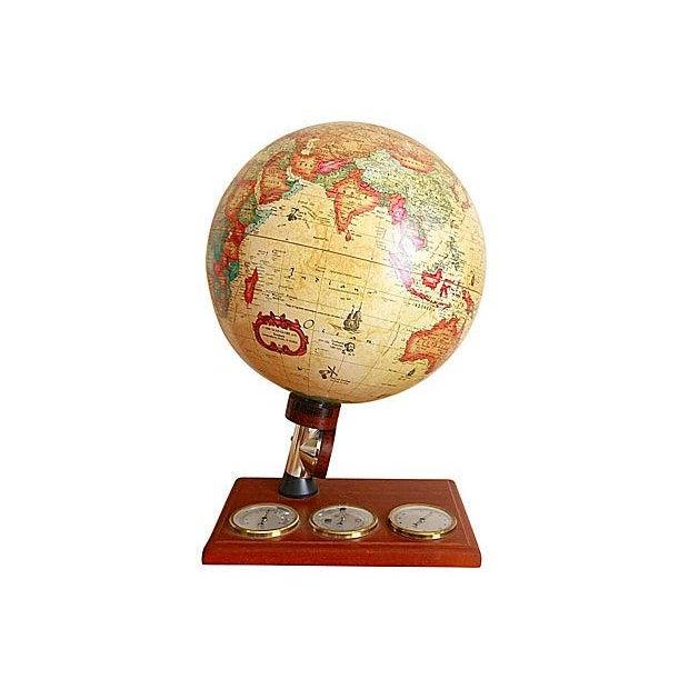 Vintage Globe Desk Lamp - Image 1 of 6