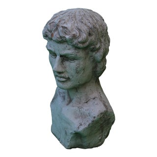 Antiquated Classical Head Statue