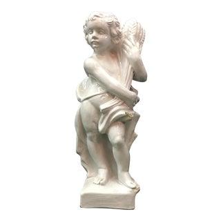 Italian Pottery Statue of Child