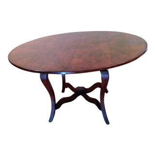 """Vintage 54"""" English Oak Table"""