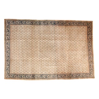 "Vintage Mir Sarouk Carpet - 7'7"" x 11'4"""