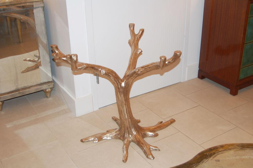 Cast Bronze Tree Table Base   Image 2 Of 4