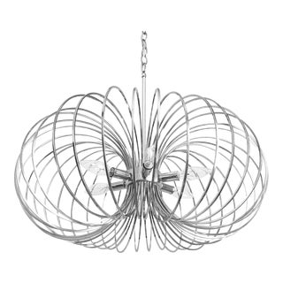 Modern Lightolier Chandelier