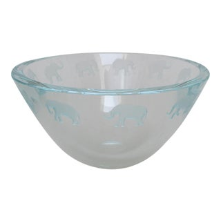 Schlanser Art Glass Bowl