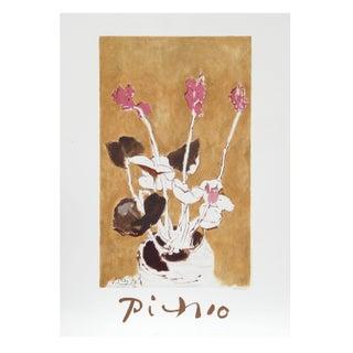 Pablo Picasso - Les Cyclamens Lithograph