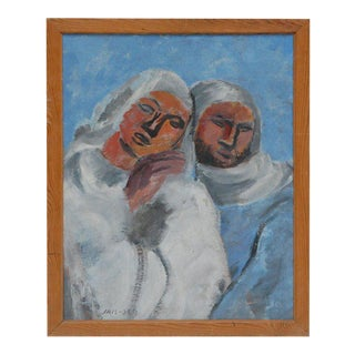 Jais Nielsen Oil Painting