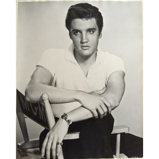 "Virgil Apger Original 1950s Elvis Photograph 16"" X 20"""