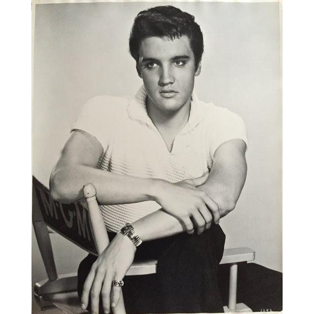 """Virgil Apger Original 1950s Elvis Photograph 16"""" X 20"""" - Image 1 of 5"""